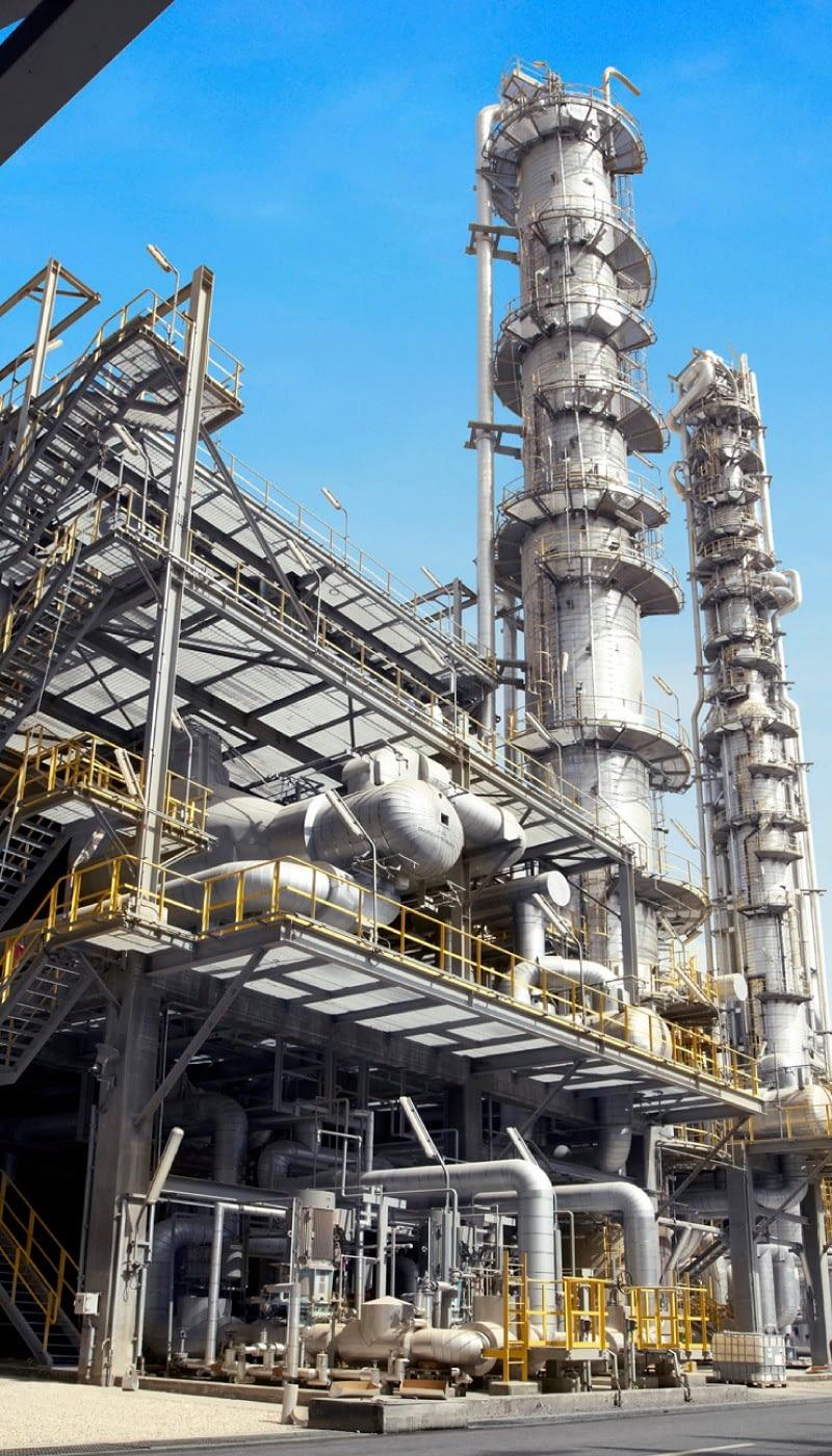indústria química e petroquímica tf filter